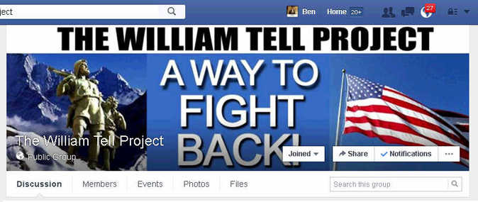 The William Tell Project Facebook Group
